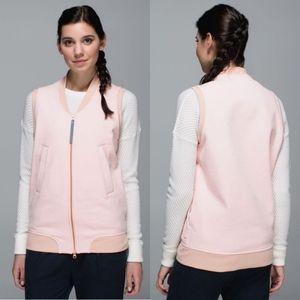 Lululemon Departure Vest in Parfait Pink Size 6